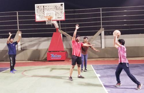 Boys Basket Ball Court