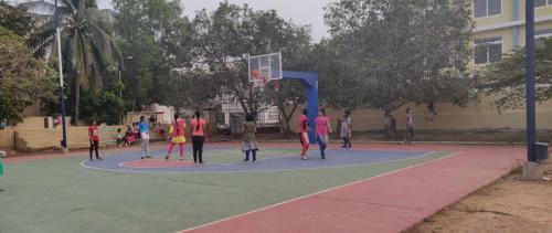 Girls Basket ball Court