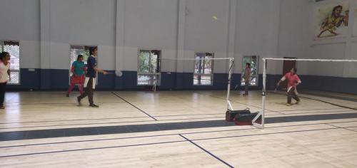 Girls Tennis Court